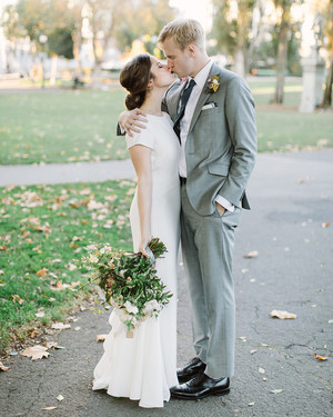 One Couple Planned Two Different Receptions for Their Garden-Meets-City Wedding in San Francisco