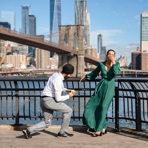 perfect proposals brooklyn bride park
