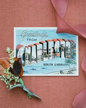Postcard Wedding Stationery We Love