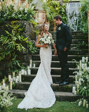 This Couple Brought Italian Flair to Their Lush Wedding in Hawaii