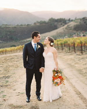A Vibrant Fall Wedding on a California Ranch