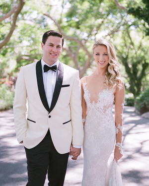 This Malibu Wedding Was Inspired by a French Chateau and Citrus Fruits
