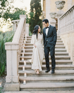 An Elegant Outdoor Wedding in Sierra Madre, California