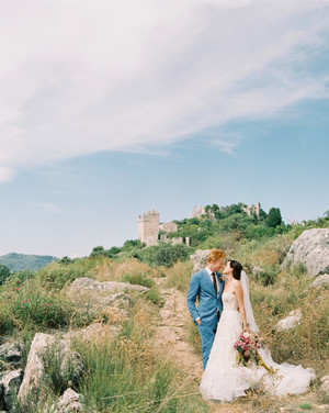 This Couple's Six Guests Never Saw Their Surprise Elopement in France Coming