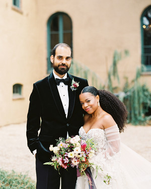 An Edgy Garden Wedding in Los Angeles