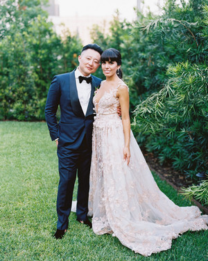 This Couple's Spring Wedding Was Full of Worldly Charm
