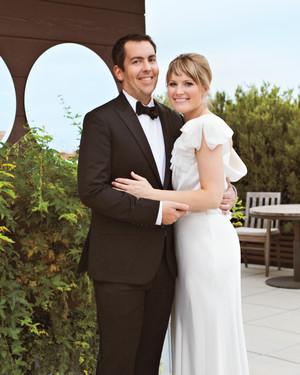 A Glamorous Black-and-White Wedding in Kentucky