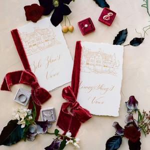 red wedding ideas the ganeys
