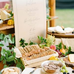 sarah jake wedding food