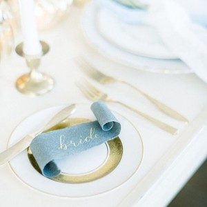 scroll placesetting name tags