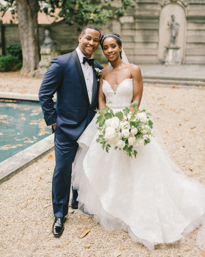Even Rain Couldn't Make This Couple's Garden-Inspired D.C. Wedding Any Less Beautiful