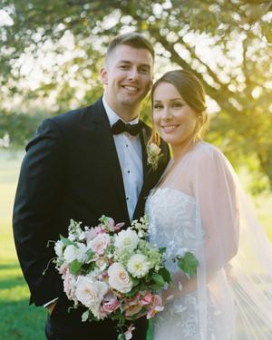 A Romantic Garden Wedding at a Maryland Manor