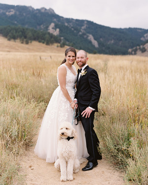 This Mountainside Colorado Wedding Was Inspired by New York City