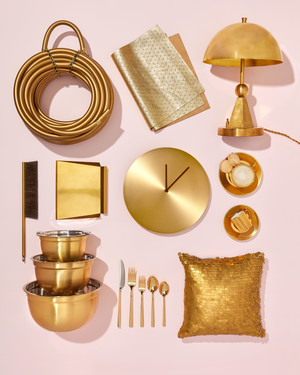 9 Gold Registry Finds That Will Add a Hint of Glamour to Your Home