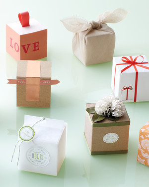 40 Gift-Box Ideas to Hold Your Wedding Favors in Style | Martha ...