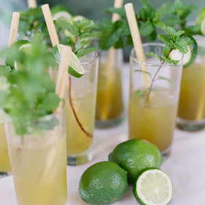 jessica ryan wedding cocktails with limes
