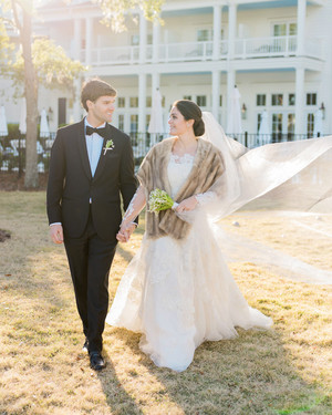 A Christmas-Themed Wedding in South Carolina