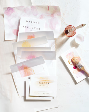 8 Tips For DIYing Your Wedding Invites