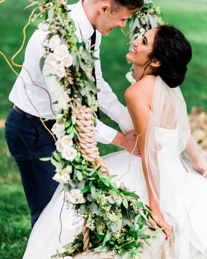 A Wedding Trend We're Loving: Swing Décor