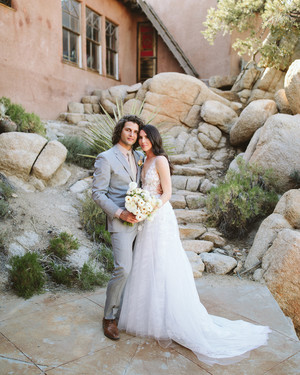 00d9fde41fe One Couple Planned a Glam-Meets-Boho Wedding in the California Desert