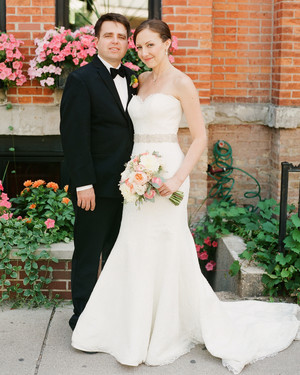 Christina and Jimmy's Modern Chicago Wedding