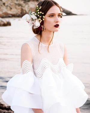 Christos Costarellos Spring 2017 Wedding Dress Collection