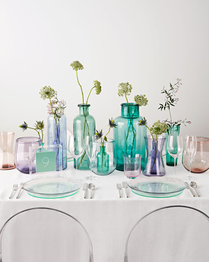 36 simple wedding centerpieces martha stewart weddings rh marthastewartweddings com simple table decorations for baby shower simple table decorations for spring