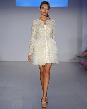 19 Short and Sweet Wedding Dresses From the Bridal Shows