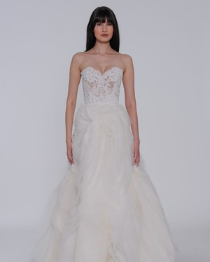Lazaro Spring 2019 Wedding Dress Collection