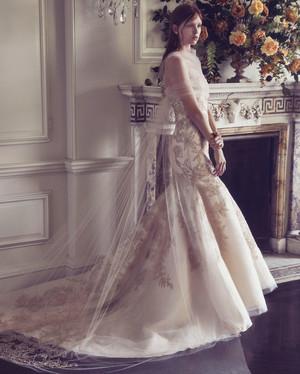 Mermaid Wedding Dresses with Bow