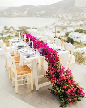 38 pink wedding centerpieces we love martha stewart weddings rh marthastewartweddings com wedding centerpieces pink and silver tall wedding centerpieces pink