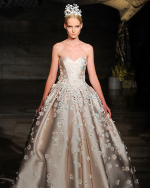 Ultra-Romantic Floral Wedding Dresses