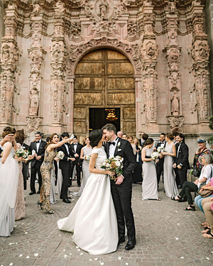 A Candle-Filled Wedding Inspired by the Historic Mexican Setting