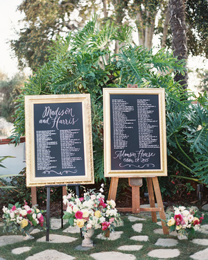 wedding seating