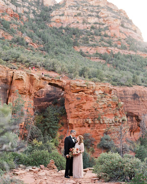 This Couple Made Sure Their Intimate Wedding in Sedona's Red Rocks Was All About Their Guests