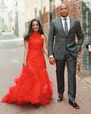 Red Bridesmaid Dresses Unique