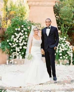 This Couple's Arizona Wedding Had an Old-Hollywood Theme