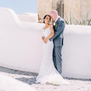 natasja rob wedding couple