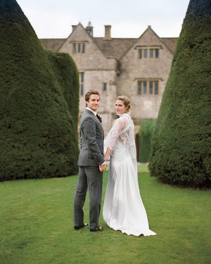 A Formal Destination Wedding on a Country Estate in England