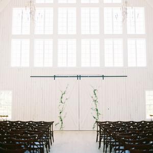 shakira travis wedding ceremony white barn