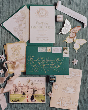 The Prettiest Vintage-Inspired Wedding Invitations