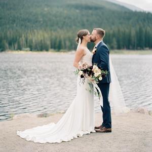 casey andrew wedding couple