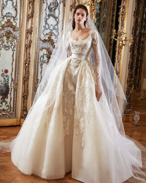 Embellished Wedding Dresses for the Bride Who Wants to Make an Entrance