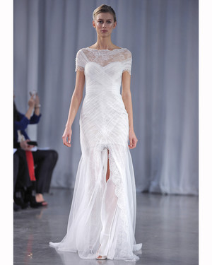 Front-Slit Wedding Dresses, Fall 2013