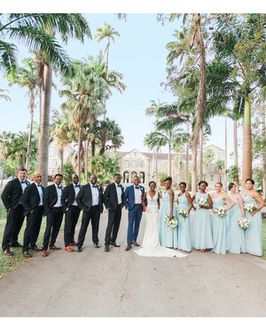 A Chic Island Wedding in Barbados