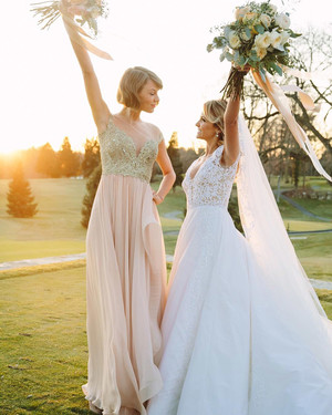 Our Favorite Celebrity Bridesmaids—See What They Wore to Their Best Friends' Weddings