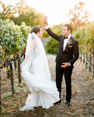 A Sophisticated Fall Wedding in California Wine Country