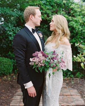 This South Carolina Wedding Was Packed with Lilacs