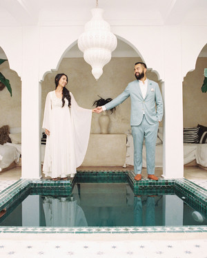 A Minimalist Desert Wedding in Marrakech, Morocco