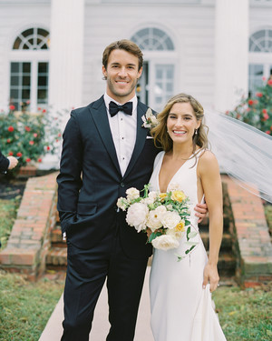 This Maryland Wedding Melded East and West Coast Style
